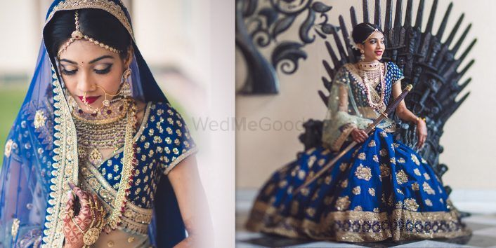 A Gorgeous Jodhpur Wedding With A Bride On The Iron Throne