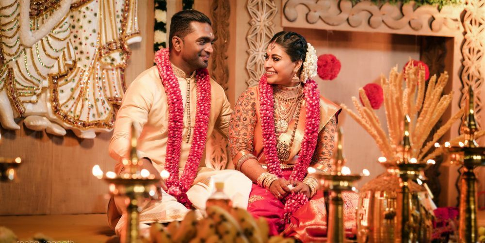 A Beautiful Kerala Wedding With A Bride In A Customised Kanjeevaram