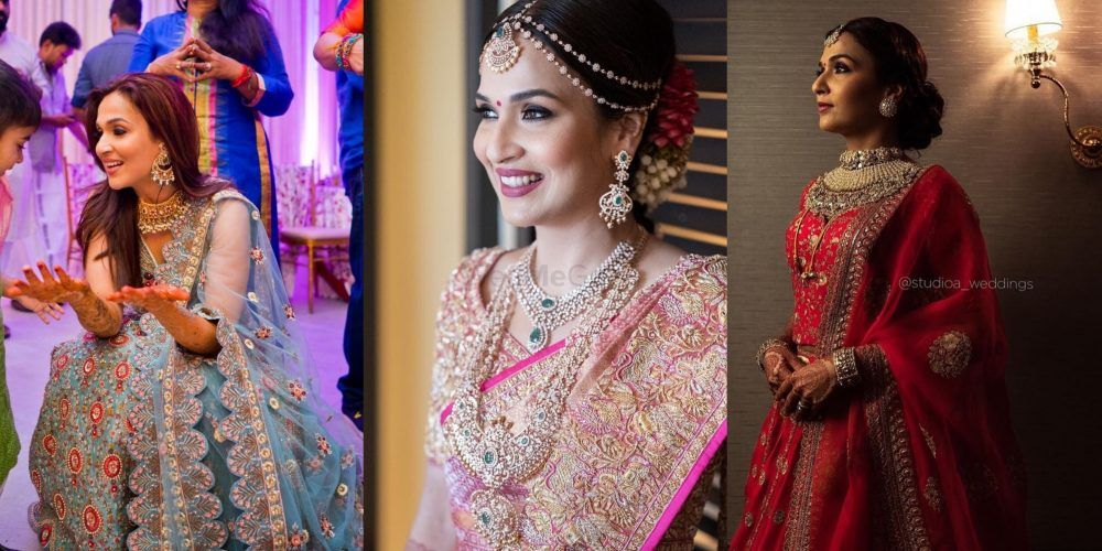 Soundarya Rajnikanth's Bridal Looks Are Perfect For Inspiring South Indian & Fusion Brides!