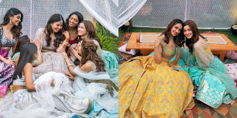 Alia Bhatt Slays As The Bridesmaid Yet Again At Another Bestie's Wedding!
