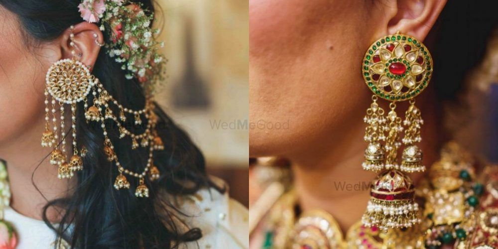 Can't Help But Fall In Love With These Bridal Jhumkas!