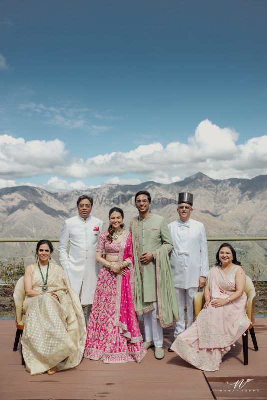 Anita Dongre's Son's Intimate Wedding In The Hills Was #OutfitGoals!