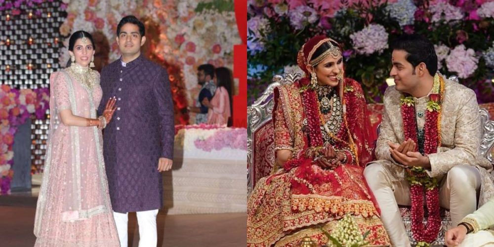 Here's What (& Who) Shloka Mehta Wore At Each Of Her Wedding Functions!