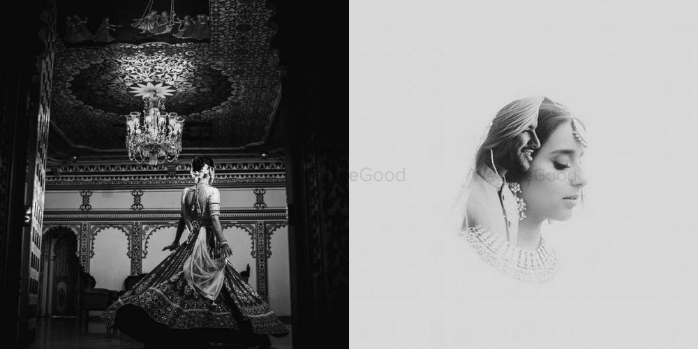 Black & White Wedding Portraits That Left Us Awestruck!