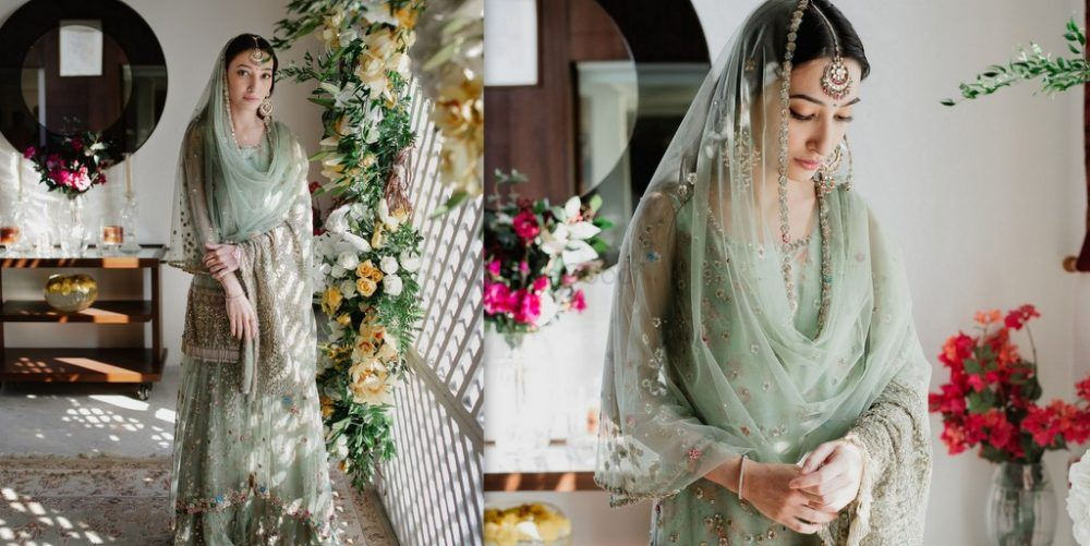 A Glam Mumbai Engagement With Stunning House Decor & A Bride In Offbeat Outfits