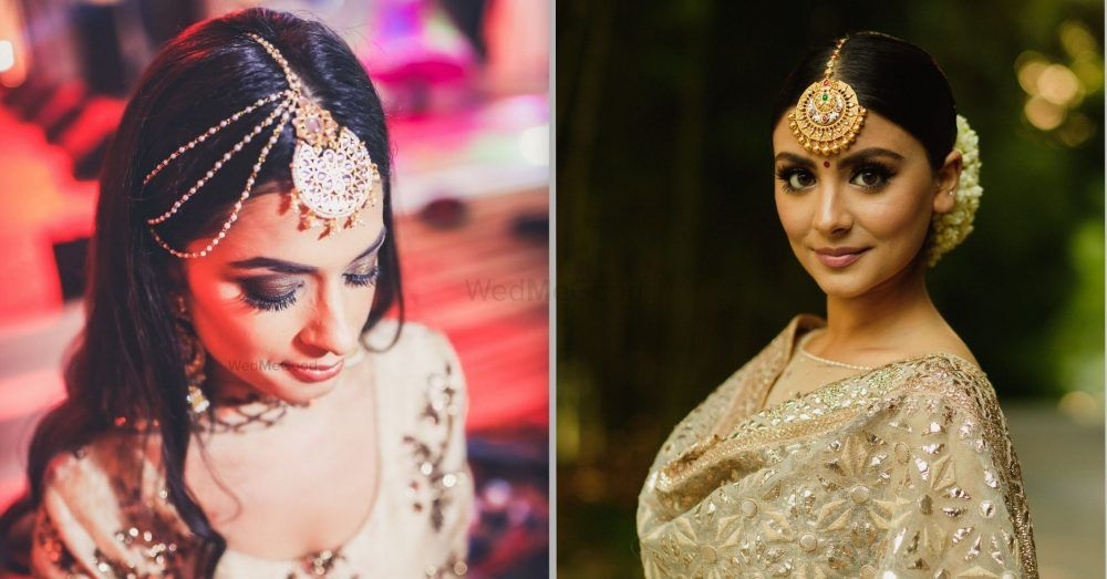 Go Big Or Go Home! 12 Brides Who Wore Oversized Mangtikkas And Looked Worth A Million Dollars!