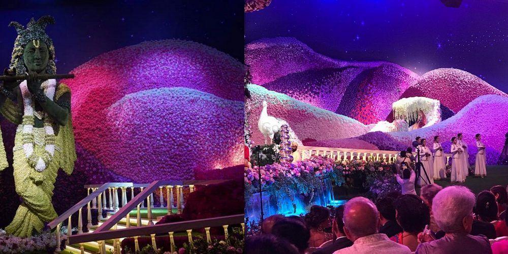 #FlowerPower: The Flower Decor At Akash Ambani - Shloka Mehta Wedding Had Us Floored!