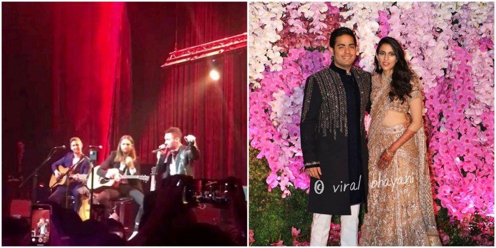 And It Happened! Maroon 5 Performed At Akash Ambani - Shloka Mehta's Grand Reception Last Night!