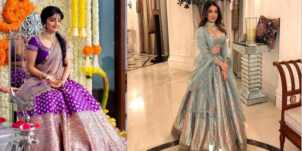 The Most Offbeat Lehenga Colours To Contemplate For Your Sangeet!