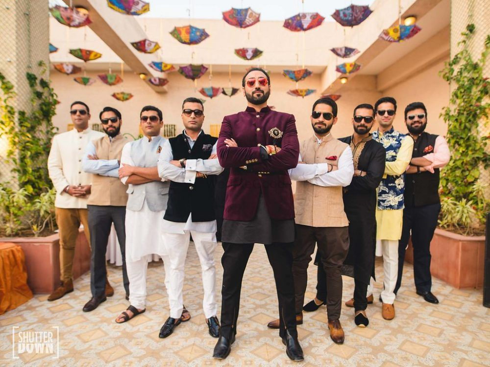 Unique Menswear For Engagement Spotted At Real Weddings