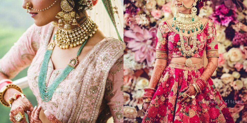 Layer Your Bridal Necklaces To Perfection - Brides Who Got It Just Right!