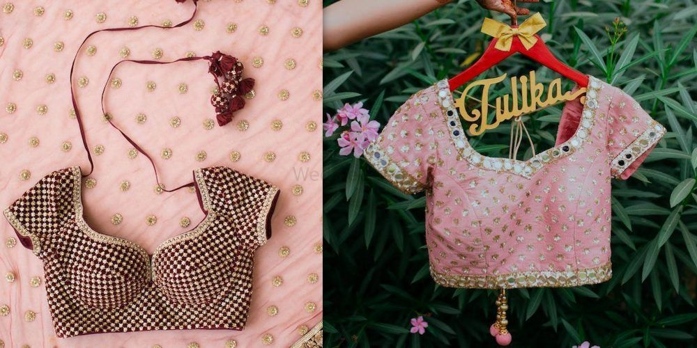 Real Brides Reveal: The Best Places In Delhi To Get A Bridal Blouse Stitched!