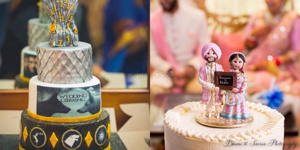 10 New Wedding Cake Trends For Your 2019 Wedding!