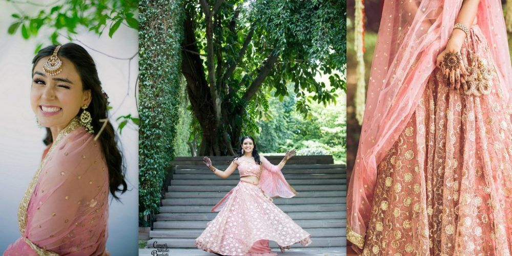 A Beautiful Delhi Wedding Of High-School Sweethearts With The Bride In Stunning Outfits