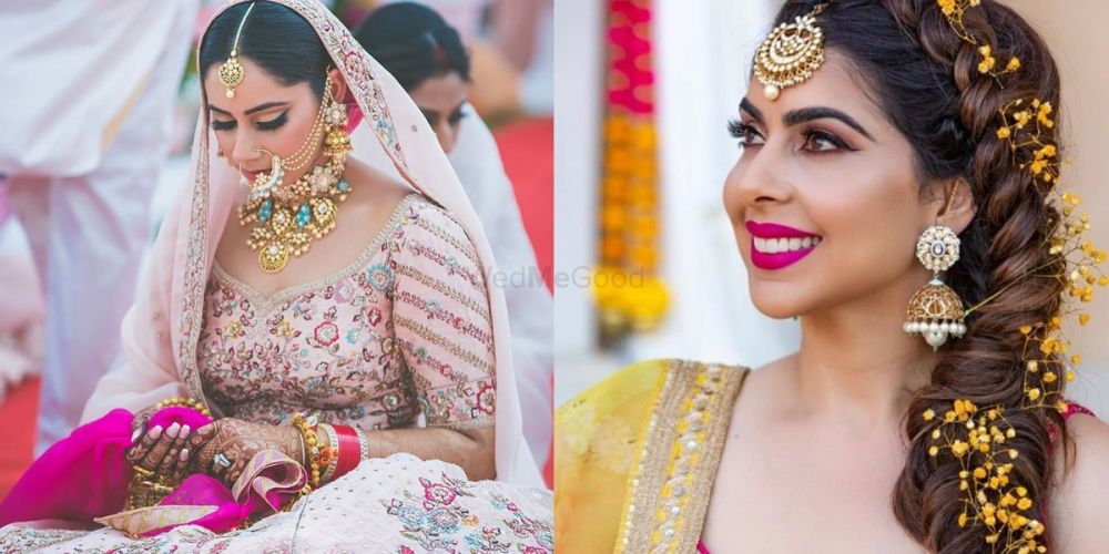 How To Add A Pop Of Colour To Your Bridal Look Without Looking Tacky!