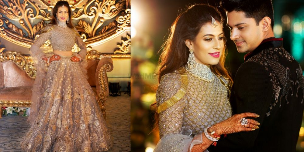 A Pretty Indore Wedding With A Bride In Beautiful Outfits & Unique Jewellery