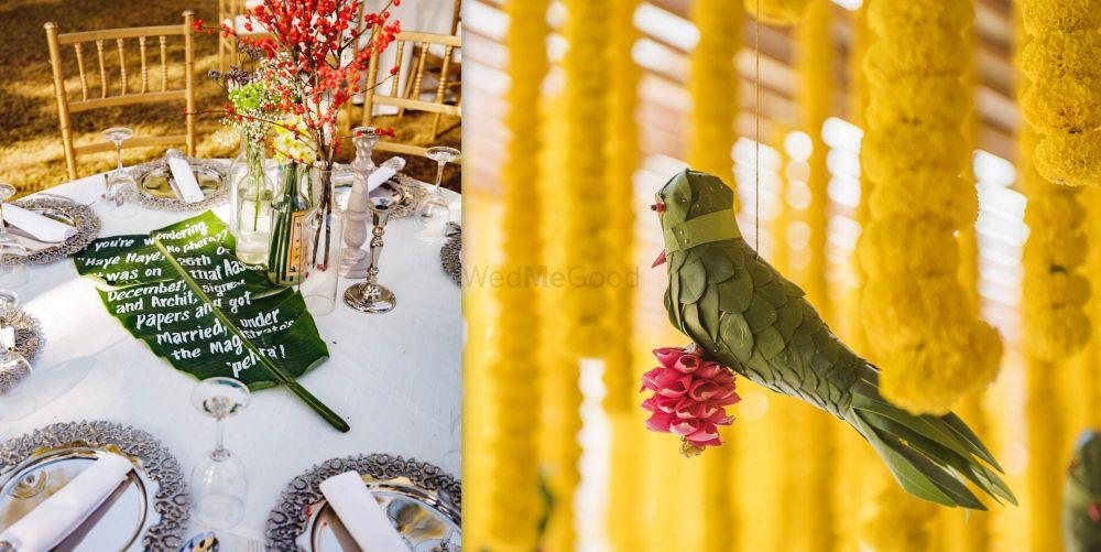 #Trending - Banana Leaves In Wedding Décor!
