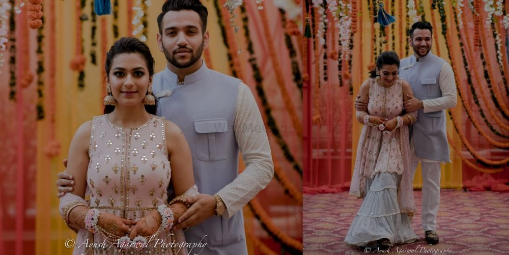 An Elegant Chandigarh Wedding With A Unique Mehendi Outfit
