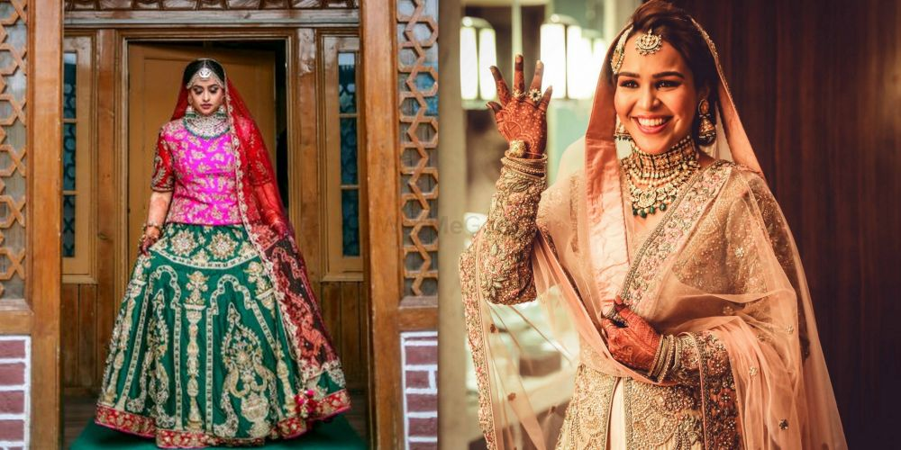 Muslim Brides Who Blew Our Minds Off With Their Beauty And Gorgeous Bridal Outfits!