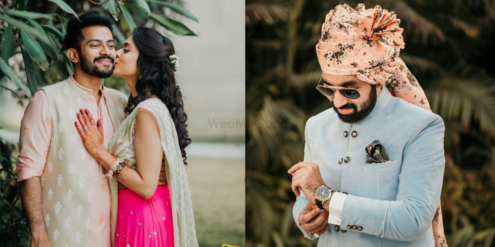 Grooms Who Wore Pastels And Totally Nailed It!