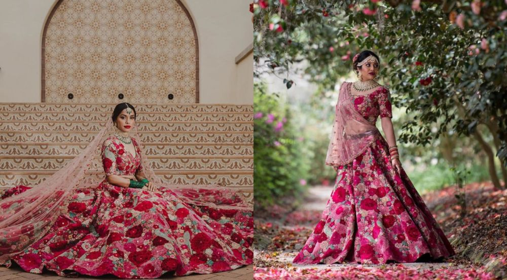 Real Brides Who Donned The 'Dil Guldasta' Lehenga And Rocked It!