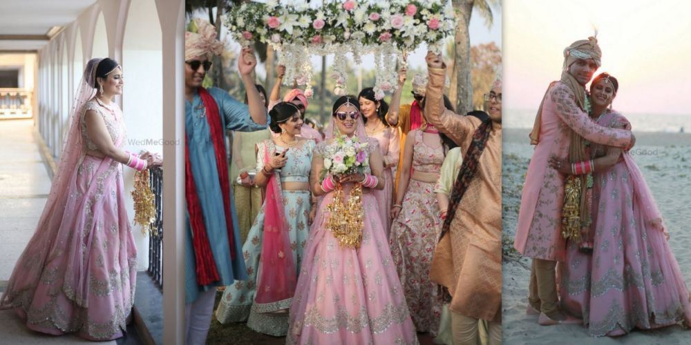A Gorgeous Dusk Wedding In Goa With Hues Of Pink Spread Over