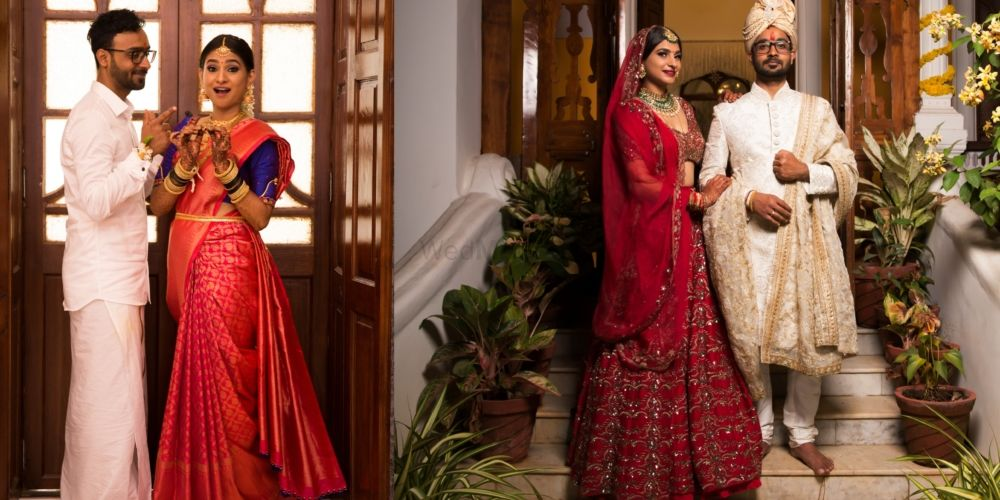 A North Meets South, Destination Wedding In Goa, With Only 80 Guests