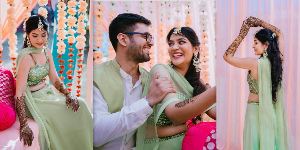 An Eco-Friendly Bikaner Wedding With Striking Outfits, Heirloom Jewellery & Lots Of DIYs!
