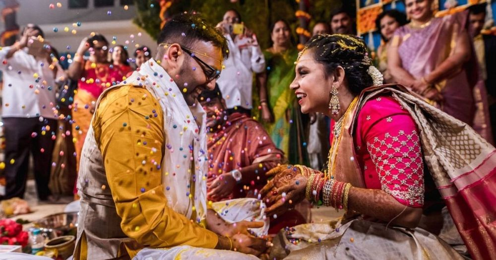 A Multi-Cultural Wedding With Refreshing Outfits And A Cute Office Love Story