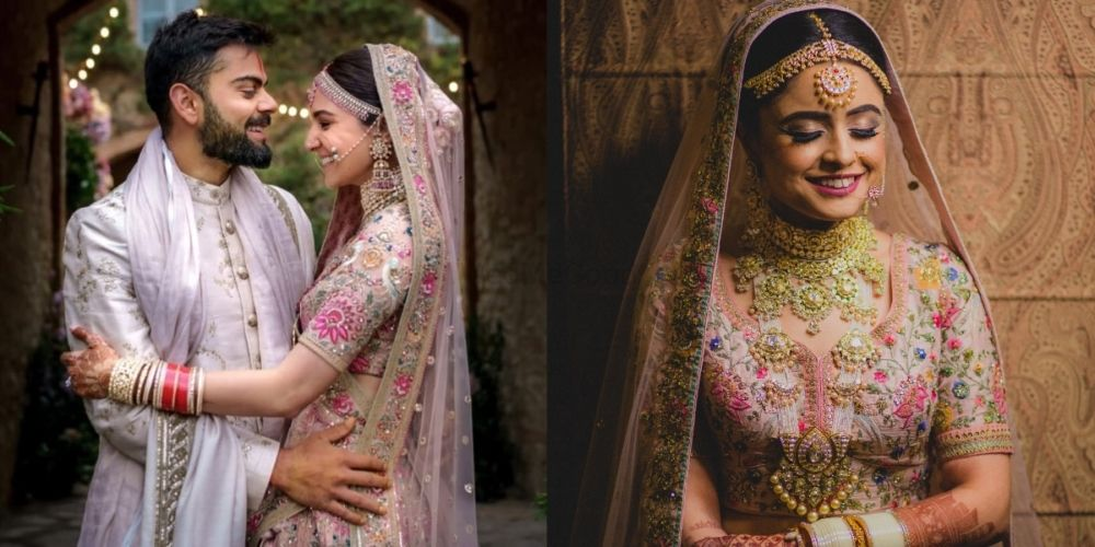 Brides Who Wore Anushka's Lehenga In Different Ways!