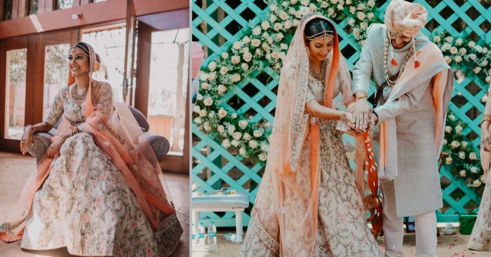 A Charming Bangalore Wedding With Kitsch Details And A Bride In Mint