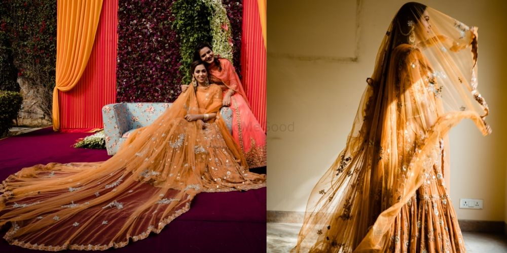 A Modern Delhi Wedding With Traditional Aesthetics And A Bride In Jewel-Tone Outfits!