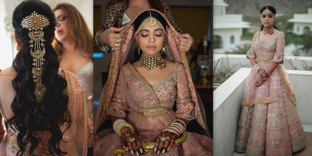A Pink Wedding In The Pink City With The Bride In A Customised Bridal Lehenga