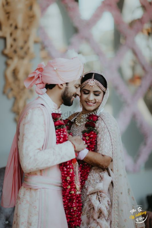 A Gorgeous Agra Wedding With The Bride In A Pastel Lehenga