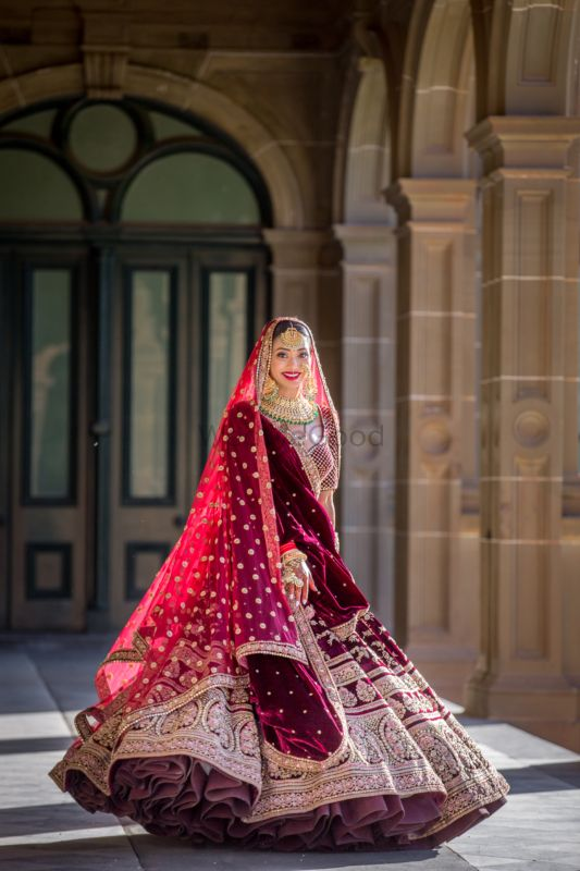 A Magnificent Wedding With The Bride In Pin Worthy Outfits