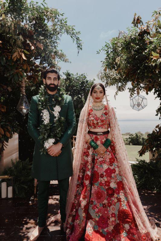 A Breathtaking Jungle Wedding With The Bride In Dil Guldasta Lehenga