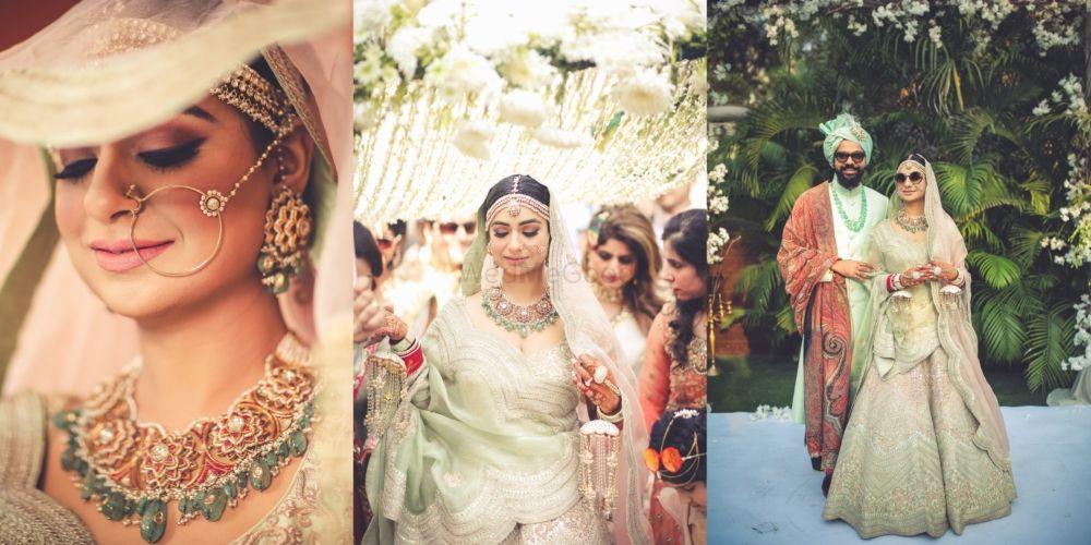 Gorgeous Delhi Wedding With Pastel Hues & Breathtaking Jewellery