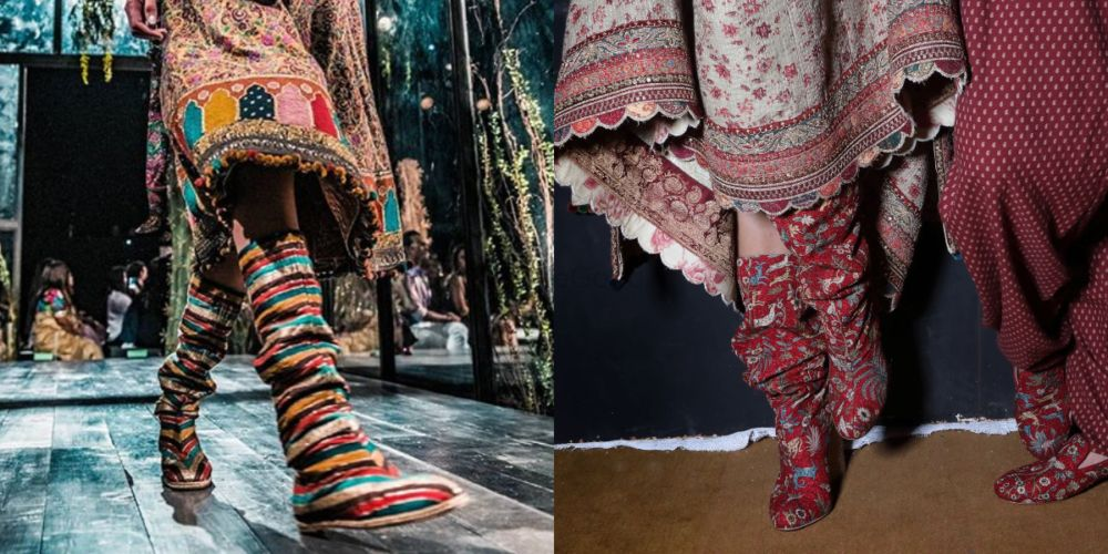 Sabyasachi Launches An Epic Collection Of Boots and Shoes For All You Winter Brides!