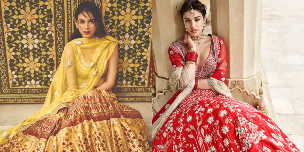 10 Gorgeous Lehengas You Can Get From Anita Dongre In Under A Lakh!