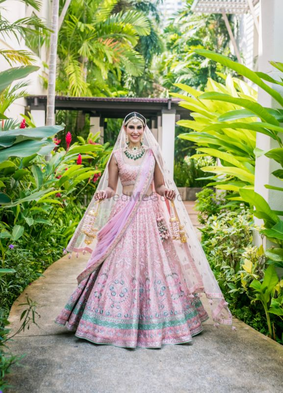 A Pink Thailand Wedding With Unique Details & Stunning Outfits