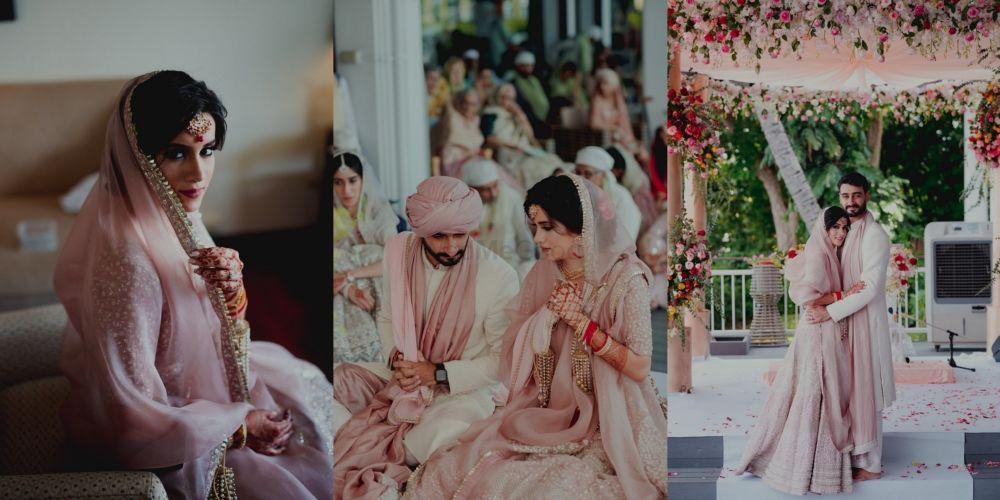 A Pastel Hued Anand Karaj In Bangkok With A Stunning Bridal Lehenga