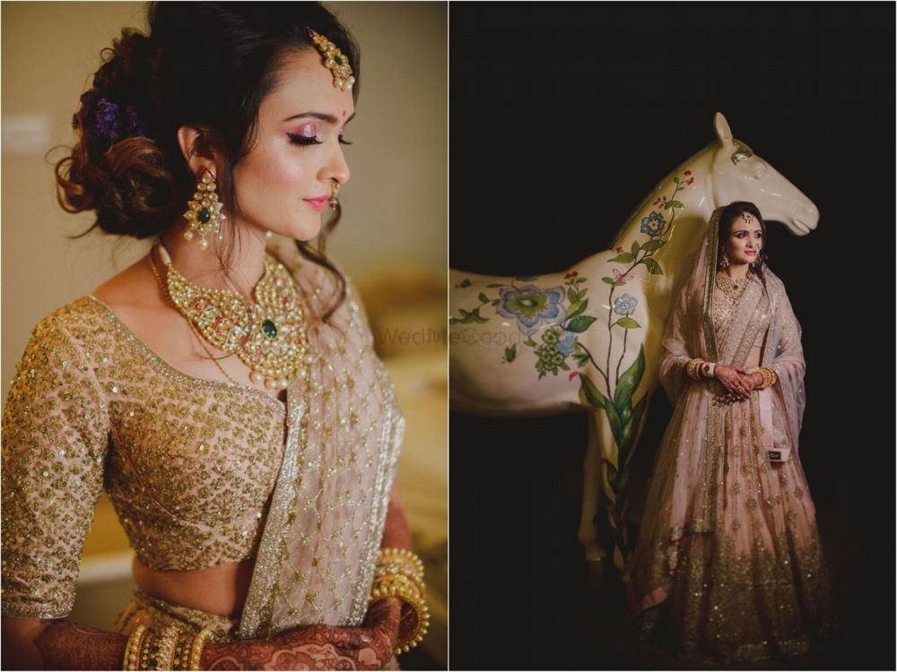 A Stunning Udaipur Wedding With A Dazzling Bridal Entry