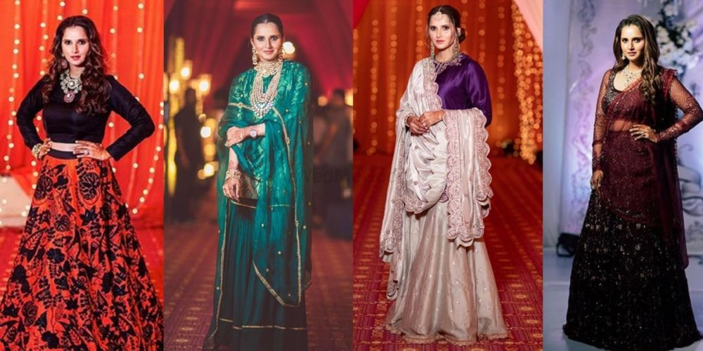 Sania Mirza Aced Her Bridemaid Looks At Her Sister's Wedding!