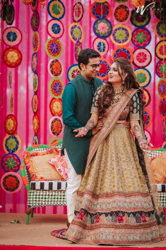Udaipur Destination Wedding With The Most Stunning Bridal Outfits