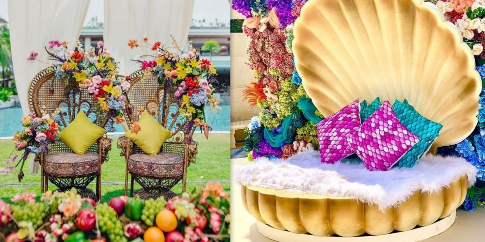 Couple Mehendi Seating Ideas That Blew Our Minds!
