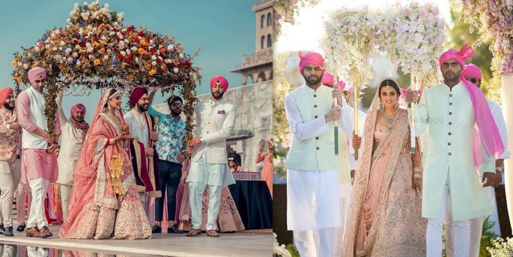 Minimal Phoolon Ki Chaadar Is Out, Extravagant Is Taking Over Weddings These Days