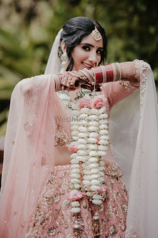 An Intimate Kerala Wedding With The Bride In A Blush Pink Lehenga
