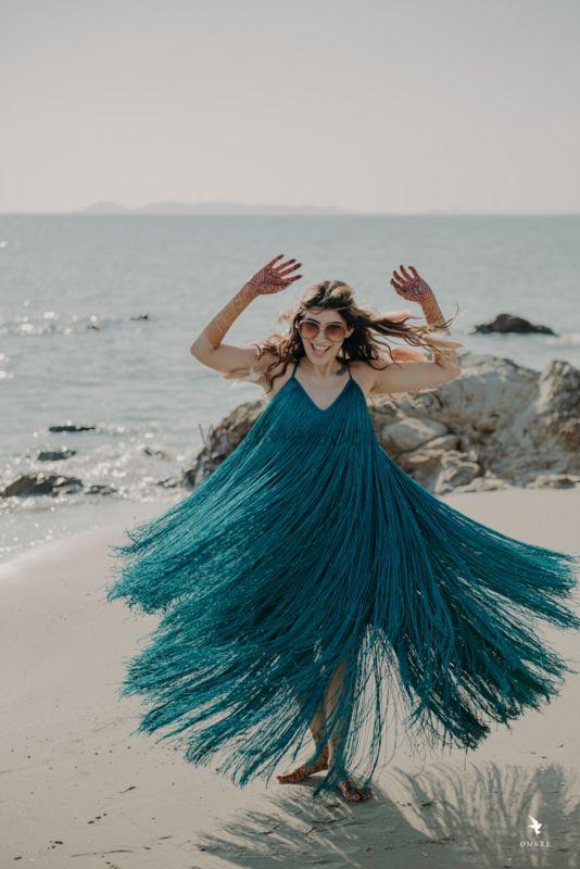 Artistic Beach Wedding Of Bollywood Stylist Neharika Juneja