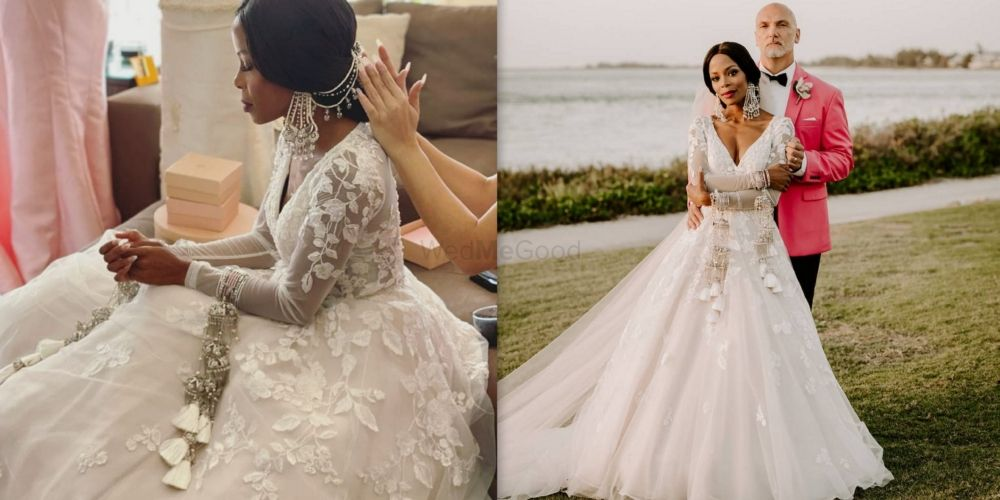#Trending - The Kaleera Goes West! This Miami Blogger Rocked One At Her Wedding.