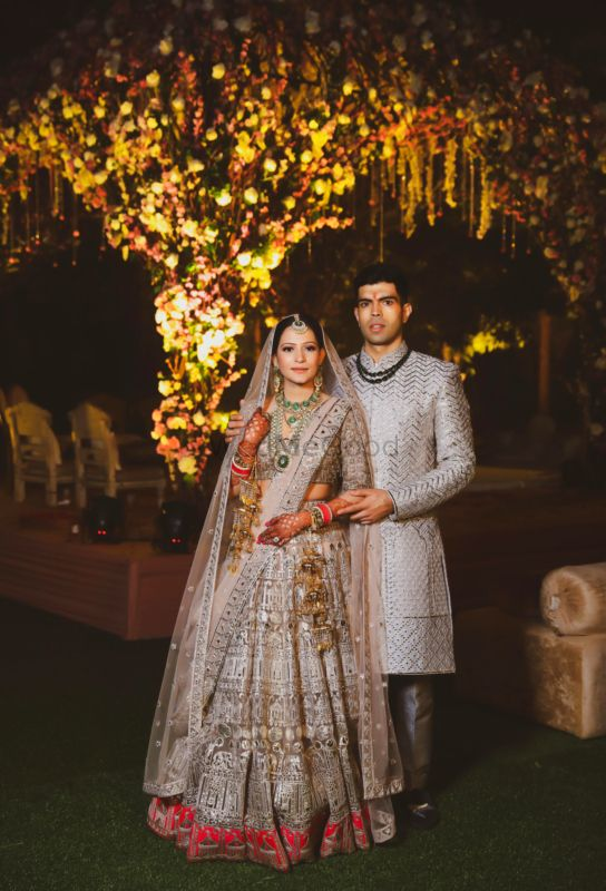 A Magnificent Delhi Wedding With Ethereal Outfits & Decor!